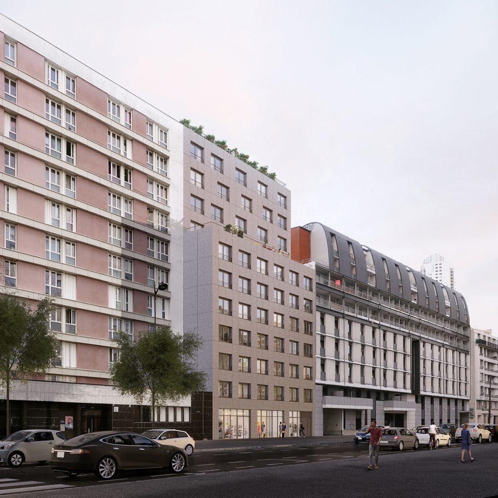 sightiline-group_bim_Graal_Paris-19_114-logements-étudiants_image-rue